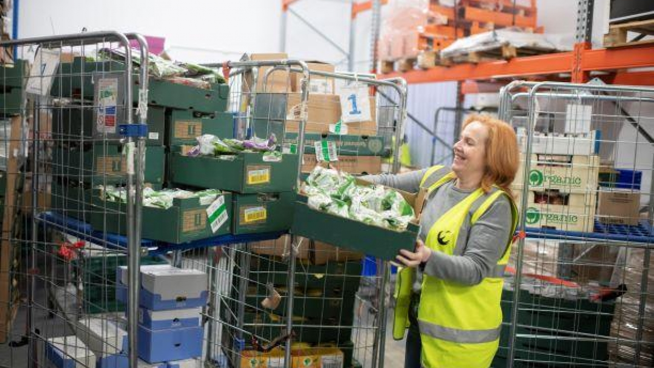Off-set costs of redistributing surplus food - FareShare's Surplus with Purpose Fund